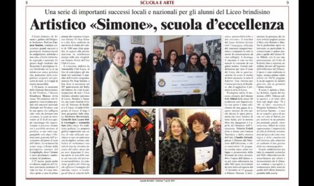 Liceo Artistico selezionato dal Miur tra pochissimi licei in tutta Italia