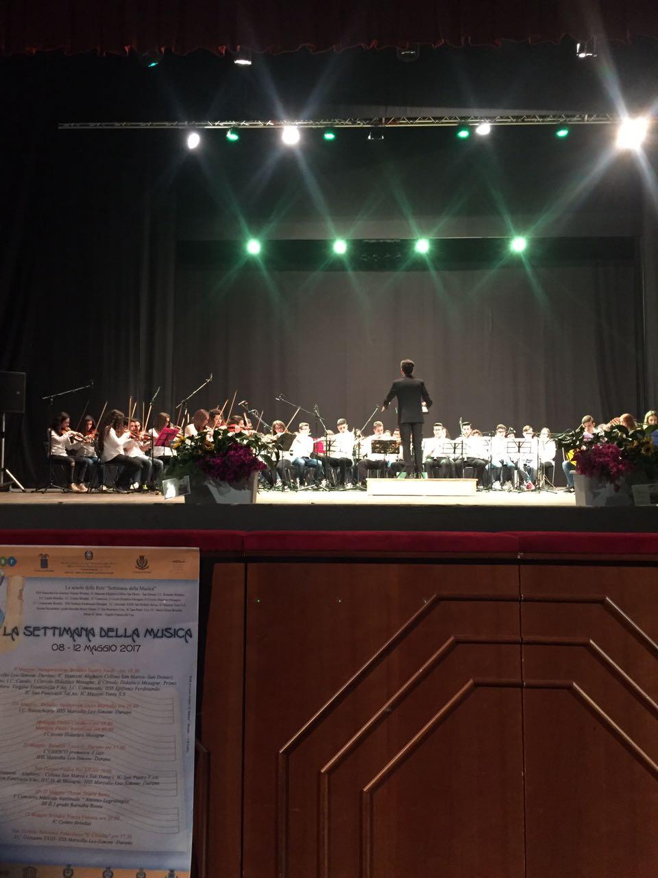 """Esibizione degli alunni del Liceo Musicale  """"Durano"""""""