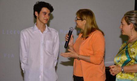 """Borsa di studio """"Angelo Piliego"""" conferita a Roberto Mengoli, alunno della classe di pianoforte del Liceo 'Durano'"""