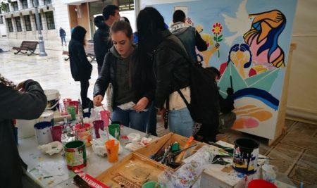 """Gli studenti del Liceo Artistico """"Simone"""" hanno collaborato attivamente alla celebrazione del 72esimo anniversario tra Peacekeeping e operazioni umanitarie organizzato dalle Nazioni Unite."""