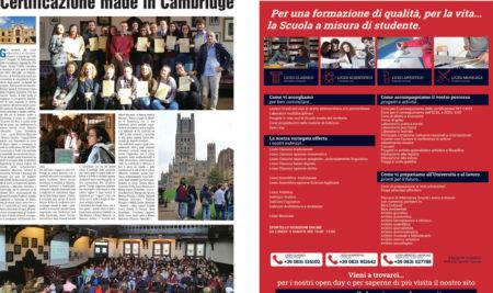 L'I.I.S.S. sulla Repubblica – Certificazione Made in Cambridge