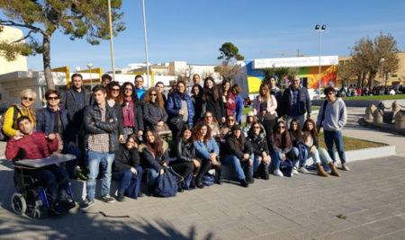 Gli studenti del Liceo Marzolla Leo Simone Durano CAMPUS ORIENTA. Il Salone dello studente  BARI – FIERA DEL LEVANTE