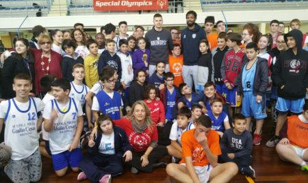 """European Basketball Week: manifestazione organizzata dall''I.I.S.S. """"Marzolla-Leo-Simone-Durano"""" di Brindisi"""