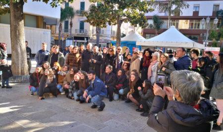 """Piazza Vittoria: bella iniziativa del Liceo Artistico e Musicale """"Simone-Durano"""""""