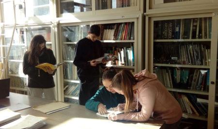 Al Liceo Simone si impara il mestiere di Bibliotecario