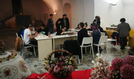 I nostri alunni imparano a lavorare la porcellana a Capodimonte