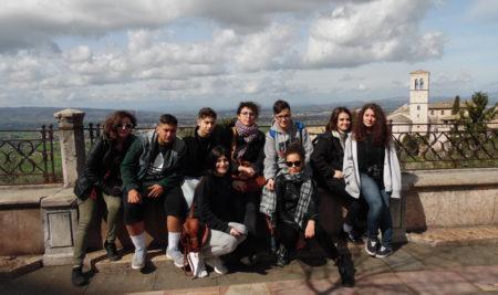 Le Classi terze del Simone Durano visitano l'Umbria