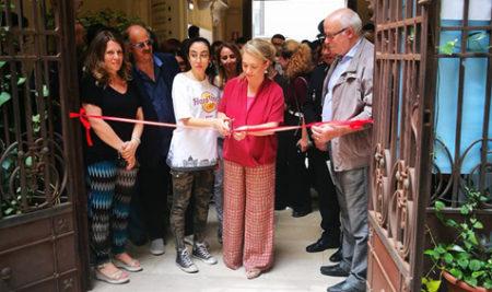 """Inaugurazione della mostra degli alunni del Liceo Artistico """"E.Simone"""" presso Palazzo Nervegna"""""""