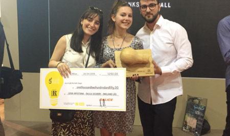 Uno studente universitario brindisino al secondo posto del 5° Design Award al Salone del Mobile di Milano