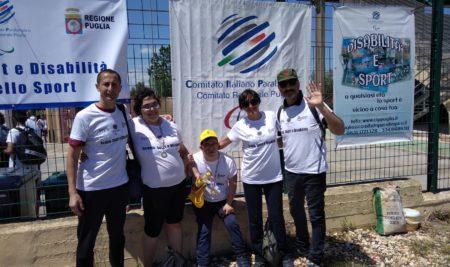 """Anche gli alunni del Simone Durano erano presenti alla festa dello sport presso il Complesso Sportivo """"S. Pio"""" di Bari"""
