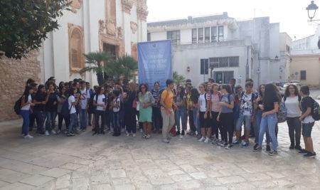 21 settembre 2018-Mattinata di cultura sanvitese per i giovani liceali.