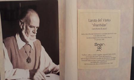 INCONTRO CULTURALE SU LANZA DEL VASTO – 28 settembre 2018
