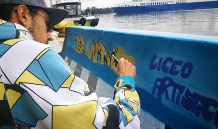 Iniziano a prendere vita le barriere stradali in cemento collocate nel porto di Brindisi