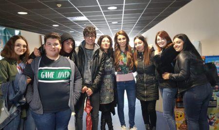 Continua il sodalizio degli studenti del Biennio dell'IISS con Giorgia Benusiglio Al cinema per contrastare l'uso di sostanze stupefacenti: il film tratto dalla storia di Giorgia