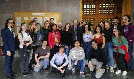 """Gli alunni del liceo artistico Simone hanno partecipato all'evento conclusivo del progetto """"Educare alla penalità"""""""