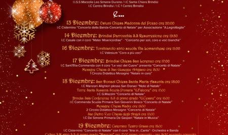 """""""Natale insieme"""" del Liceo Giustino Durano"""