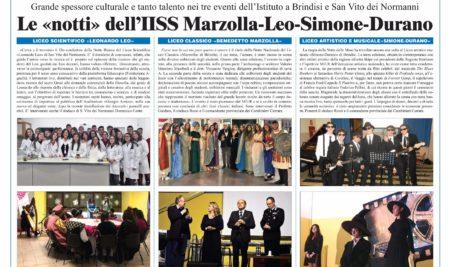 LE NOTTI DELL'IISS MARZOLLA-LEO-SIMONE-DURANO.
