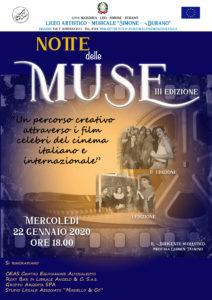 Notte delle Muse III Edizione