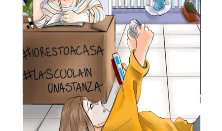 #lascuolainunastanza