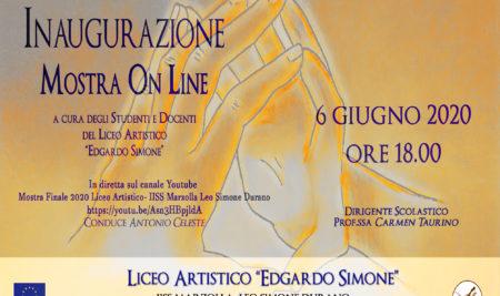 Liceo Artistico «Simone» Brindisi: sabato l'evento «Mostra On Line»