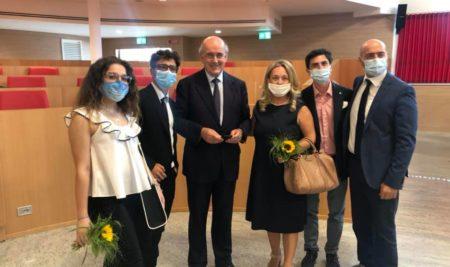 Progetto alla memoria di Aldo Moro: Gli studenti del Marzolla Leo Simone Durano sono stati ricevuti nella sede del Consiglio regionale