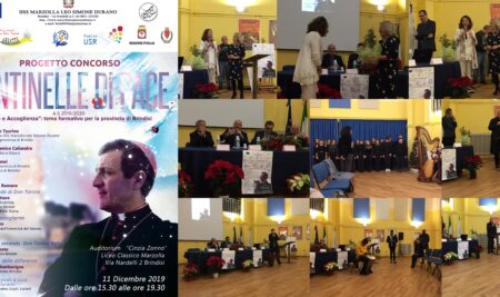 """Progetto regionale """"Don Tonino Bello profeta ed educatore""""-premiazione del video Ligasi"""