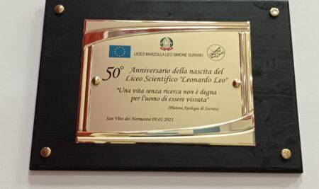 Cerimonia per il 50° Anniversario del Liceo Leo