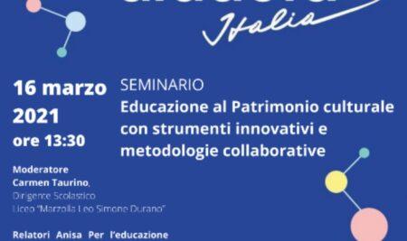 Il Liceo Marzolla Leo Simone Durano partecipa alla Fiera Didacta 2021