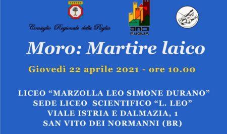 IL LICEO LEO RICORDA ALDO MORO CON L'ON. GERO GRASSI.